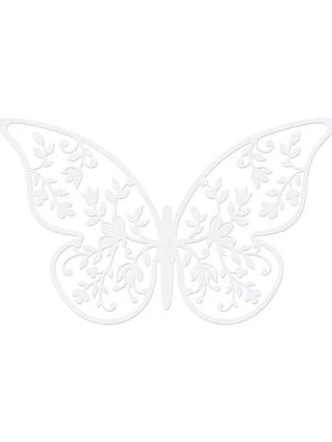 10 gab, Papīra dekorācija Taurenis, 6.5 x 4 cm