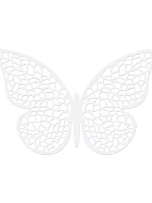 10 gab, Papīra dekorācija Taurenis, 8 x 5 cm