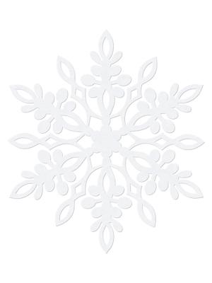 10 gab, Dekorācija Sniegpārsliņa, 11 cm