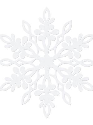 10 gab, Dekorācija Sniegpārsliņa, 13 cm