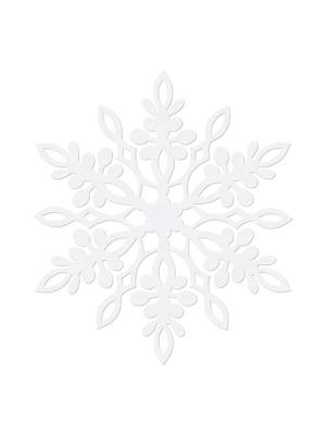 10 gab,  Dekorācija Sniegpārsliņa, 9 cm