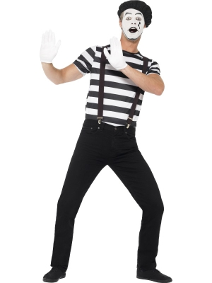 Gentleman Mime Artist Costume