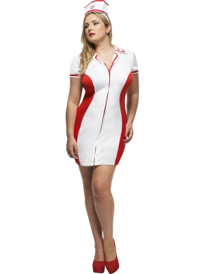 Fever Curves Nurse Costume