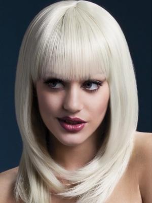Parūka Tanja, blonda, 48 cm
