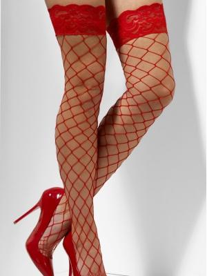 Zeķubikses tīkliņa, sarkanas