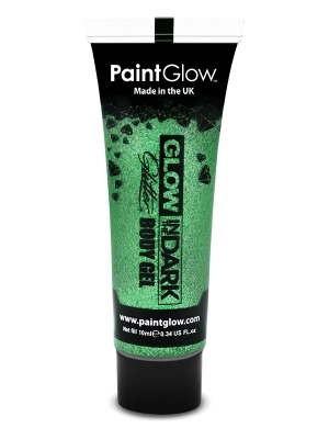 Glow in the Dark Glitter Body Gel