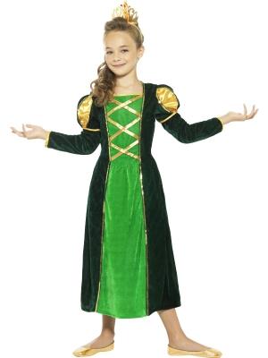 Viduslaiku Princeses kostīms