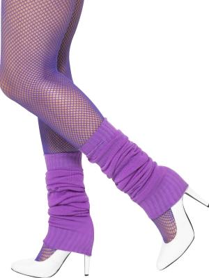 Гетры, фиолетовые