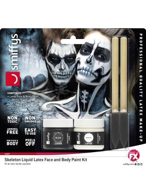 Lateksa Make-Up komplekts, Skelets
