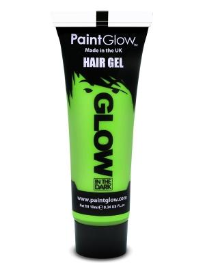 Светящаийся в темноте   гель для волос,  зелёный , 10 мл