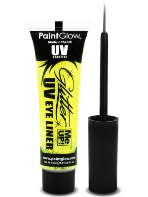 UV Acu laineris ar spīdumu, dzeltens, 15 ml