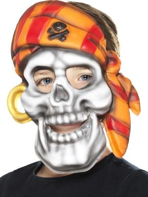 Pirātu galvaskausa maska