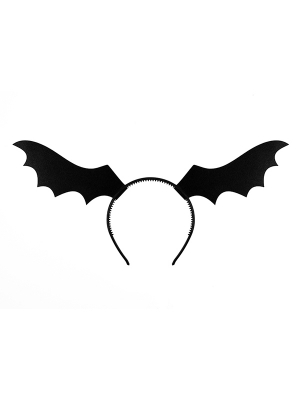 Headband Bat, black
