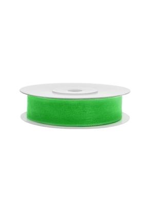 Šifona lente, āboliņa zaļa, 12 mm x 25 m
