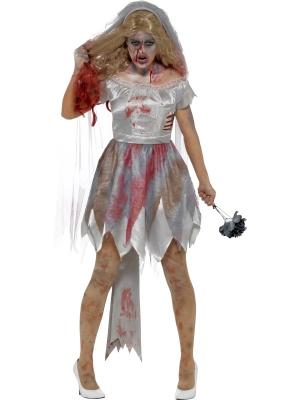 Zombiju līgavas  kostīms