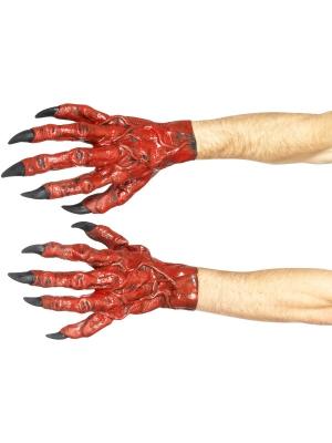 Velna rokas, lateksa