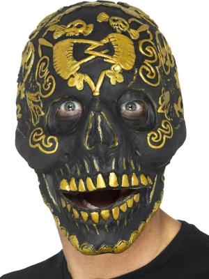 Maskarādes galvaskausa maska