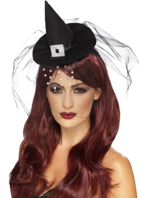 Gothic Mini Witch Hat
