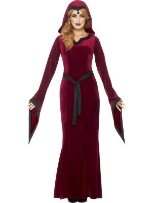 Viduslaiku Vampīres kostīms