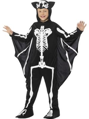Sikspārņa skeleta kostīms