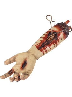Animated Gory Severed Arm Prop