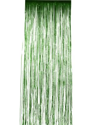 Занавес из дождика, зелёный, 91 см х 244 см