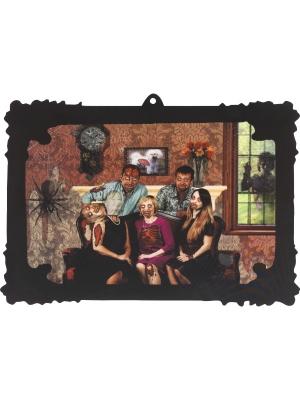 3D Ģimenes portrets, 44 cm x 31 cm