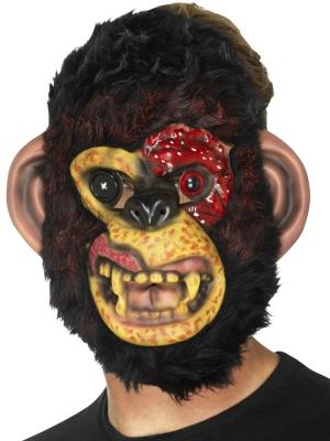 Zombija Šimpanzes maska