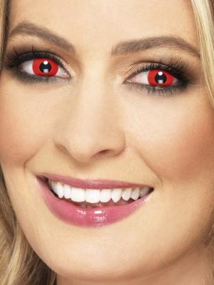 Линзы дявола, красные