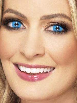 Линзы Арлекина, синие