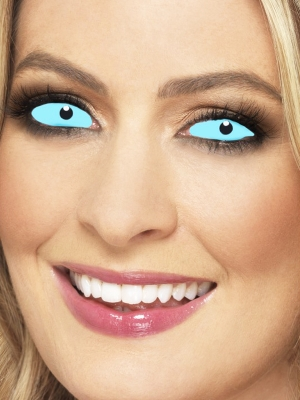 Линзы склеральные, синие