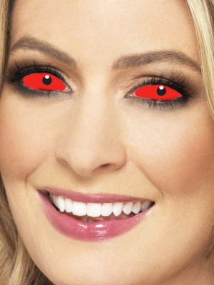 Accessoreyes Sclera Lenses, Red
