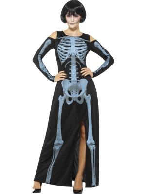 Skeleta rentgena kostīms