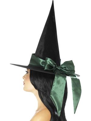 Raganas cepure ar zaļu banti
