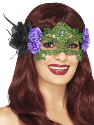 Филигранная маска, ткань