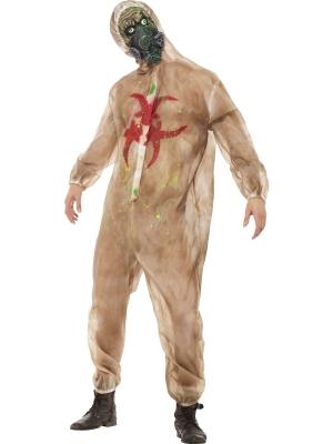 Zombija bioloģiskā apdraudējuma kostīms