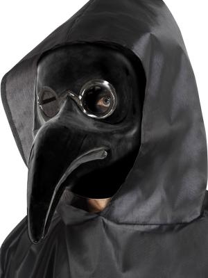Маска доктор чумы, черная