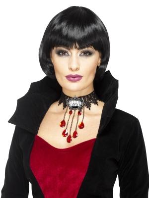 Gotiskā vampīra kaklarota