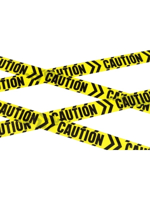 Caution Chevron Tape