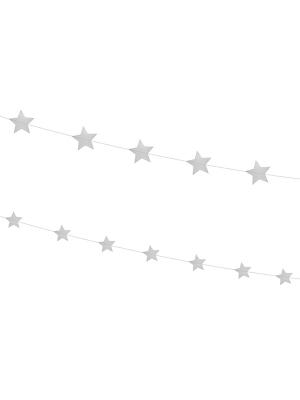 2 gab, Virtene Zvaigznes, sudraba, 180 cm