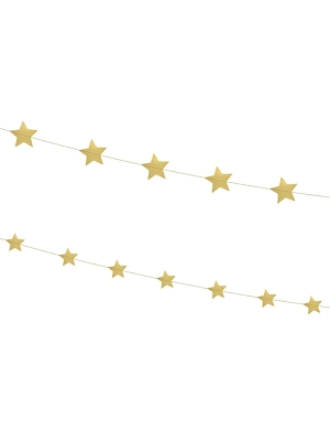 2 gab, Virtene Zvaigznes, zelta, 180 cm