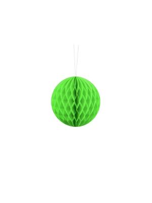 Papīra bumba, zaļš ābols, 10 cm