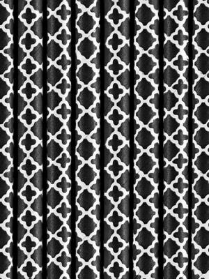 10 gab, Salmiņi marokāņu, melni, 19.5 cm