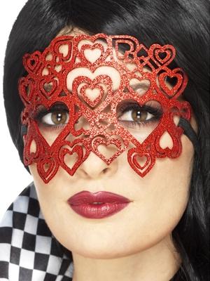 Glitter Heart Eyemask