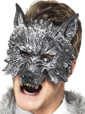 Lielā ļaunā vilka maska