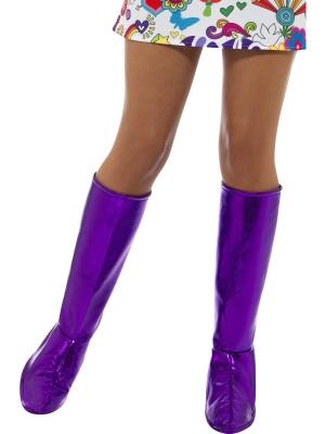 Бахилы GoGo, фиолетовые