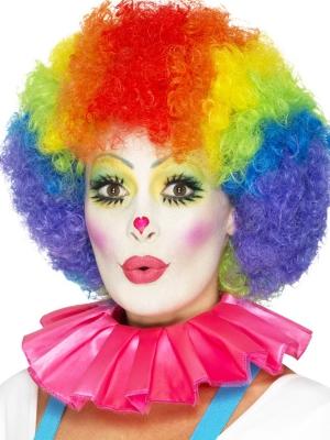 Воротник клоуна, розовый