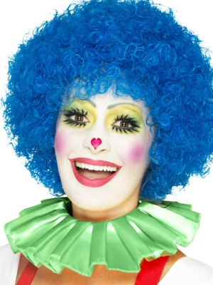 Воротник клоуна, зеленый