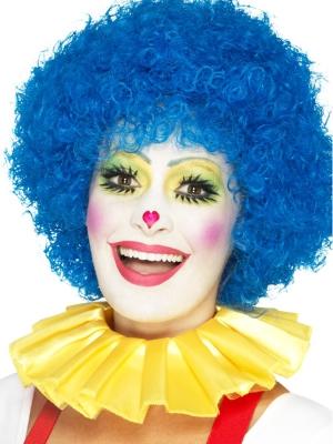 Воротник клоуна, желтый