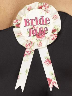 "Līgavas piespraude ""Bride to be"""